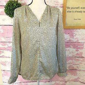 THE LIMITED SCANDAL COLLECTION Polkadot Blouse S